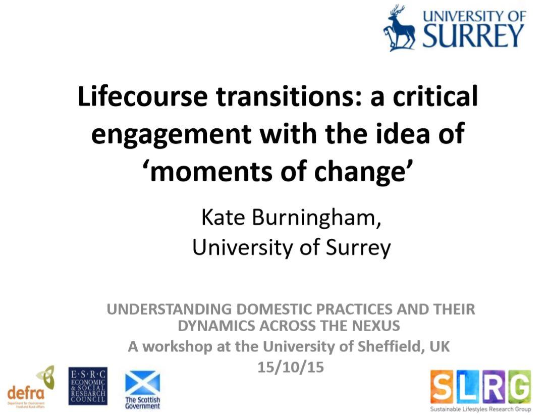 Slides from KateBurningham
